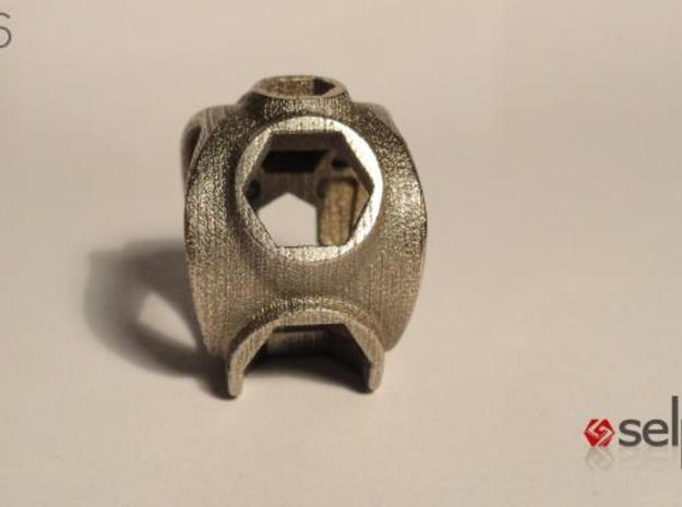 1086 ToolRing - size 10 (19,80 mm) 3d printed 1086 ToolRing - Primal Finish B