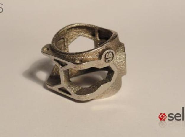 1086 ToolRing - size 10 (19,80 mm) 3d printed 1086 ToolRing - Primal Finish C