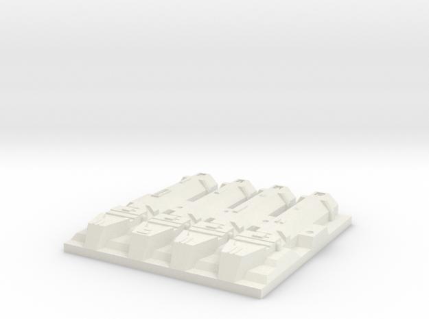 tile_deathstar_7 in White Natural Versatile Plastic