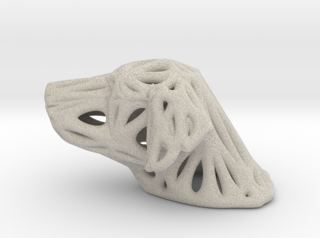 Sandstone Voronoi Dog by Good54 in Natural Sandstone