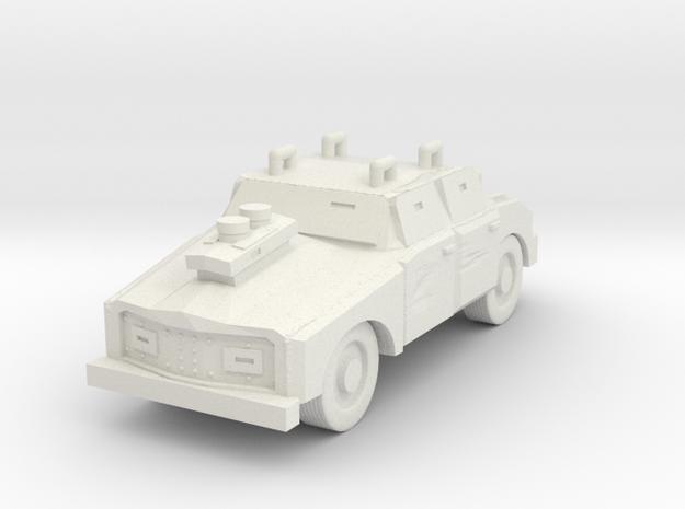 Deathboy Raider Post Apoc Car in White Natural Versatile Plastic
