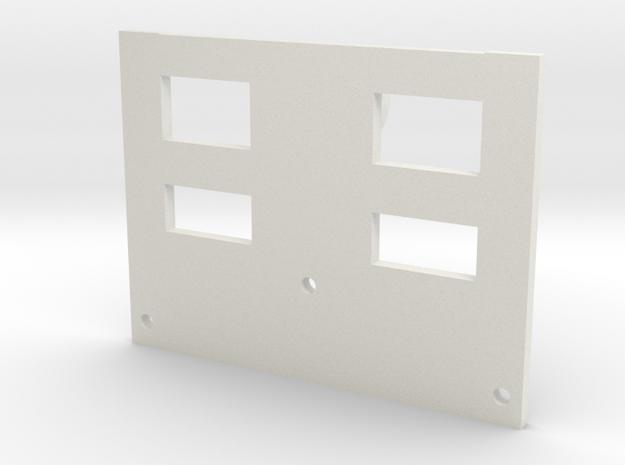 RC Lunchbox Camera Go Pro holder in White Natural Versatile Plastic