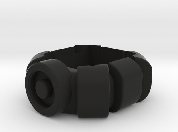Batman Beyond Belt Chalkholder in Black Natural Versatile Plastic