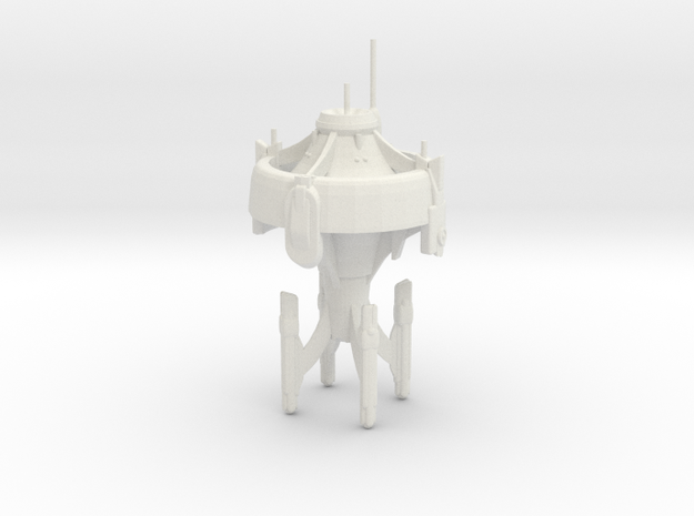 U.S.S. Centaur in White Natural Versatile Plastic