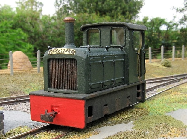 00n3 Freelance Diesel Loco in Smooth Fine Detail Plastic: 1:76 - OO