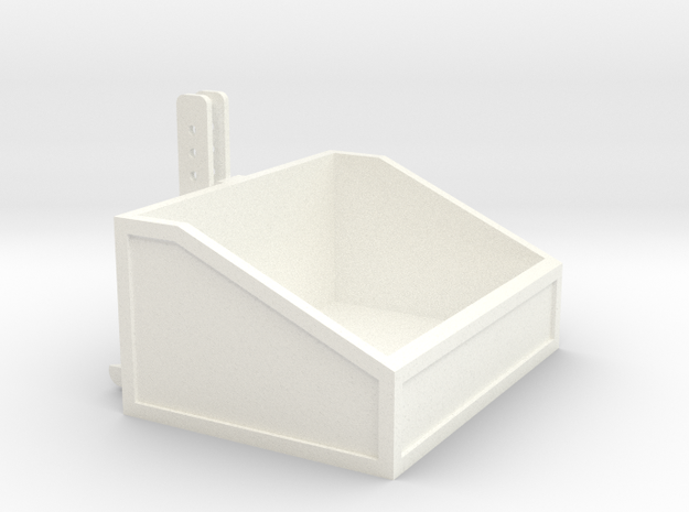 1:32 Frontbox in White Strong & Flexible Polished
