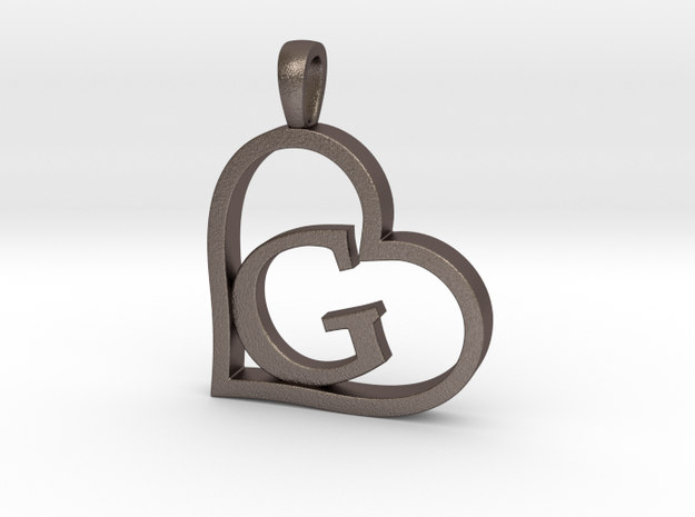 Alpha Heart 'G' Series 1 in Stainless Steel