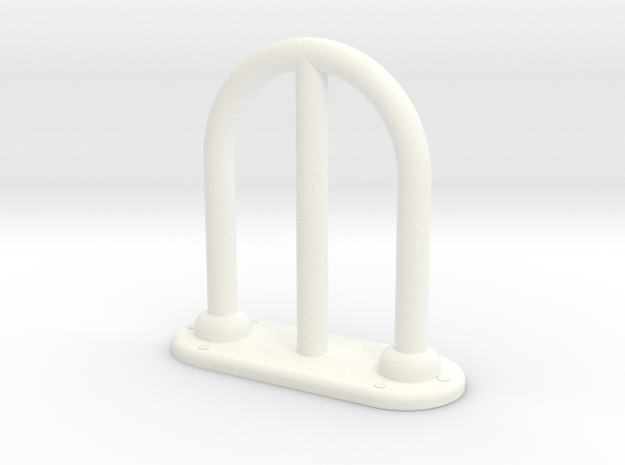 1.6 chinook antenne ajourée in White Processed Versatile Plastic
