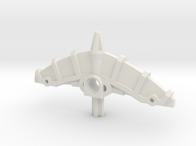 Bionicle weapon (Kongu, set form) in White Natural Versatile Plastic