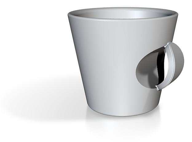 Espresso Cup Valencia (Beams series) 3d printed