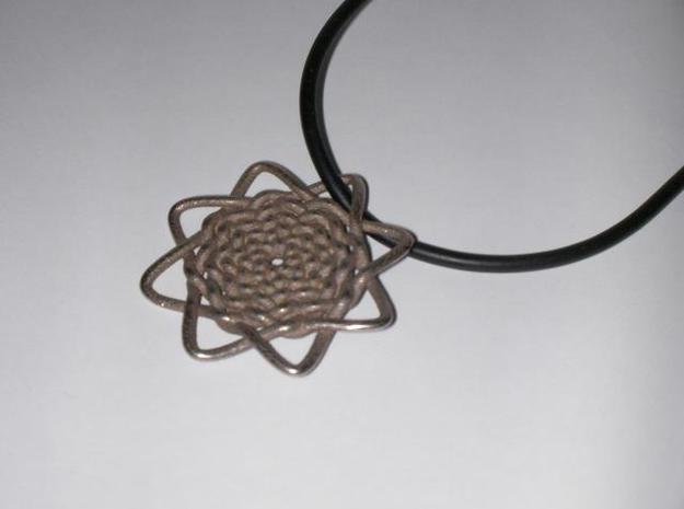 Celtic Knot Pendant 3d printed printed, unpolished
