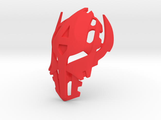 Mask of Mutation in Red Processed Versatile Plastic