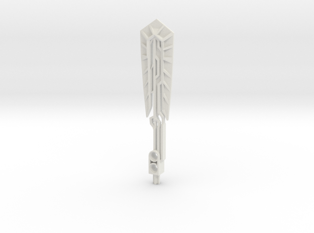 Bionicle Skull weapon in White Natural Versatile Plastic
