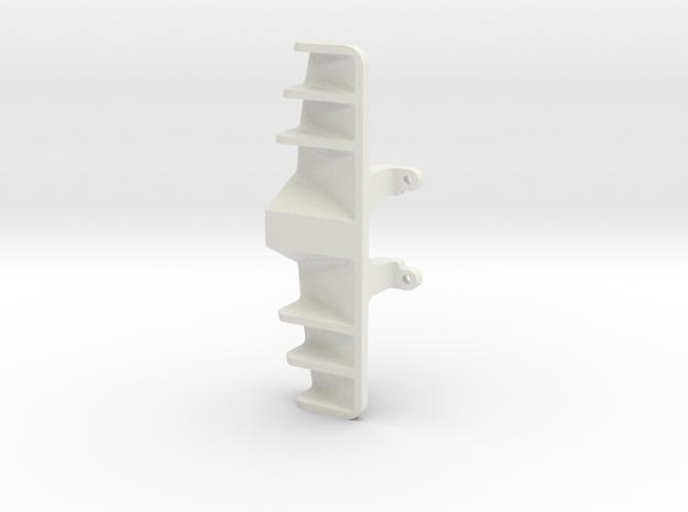 diffuseur GLA V5  for maclaren 12C GT3 in White Natural Versatile Plastic