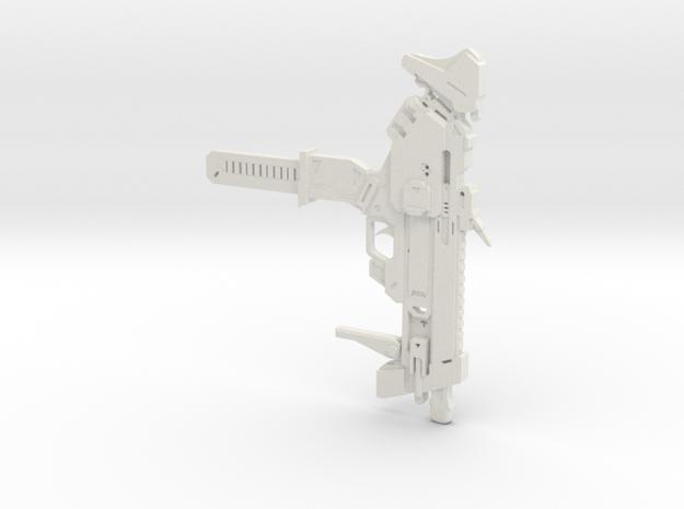 Sombra's Gun in White Strong & Flexible
