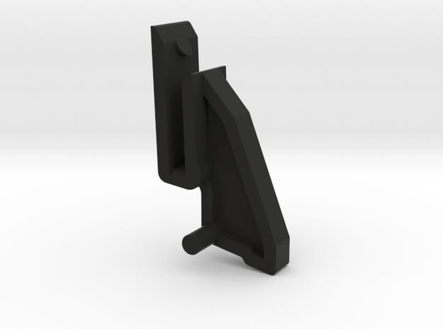 Thorens Turntable Hinge - Upper Portion in Black Strong & Flexible