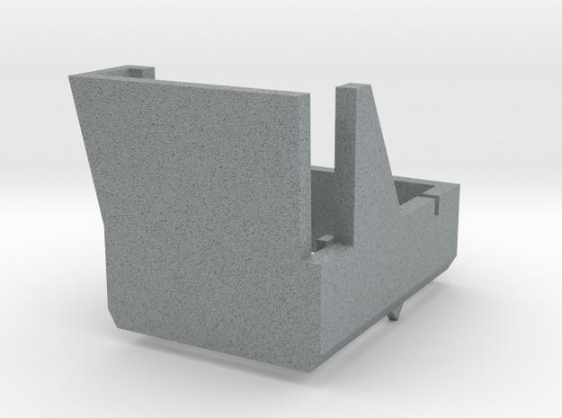 Thorens TP-63 Overhang Alignment Gauge in Polished Metallic Plastic