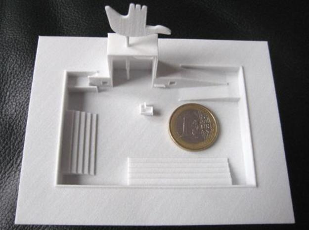 Chandigarh 3d printed Scale of the Miniature
