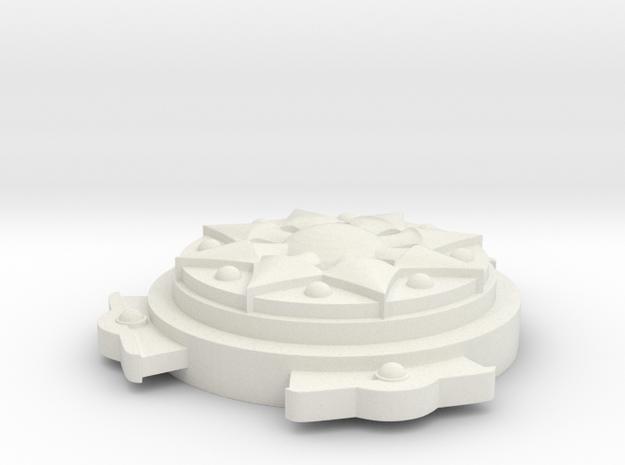 Assassin's Creed Origins - Aya Shoulder Belt in White Natural Versatile Plastic