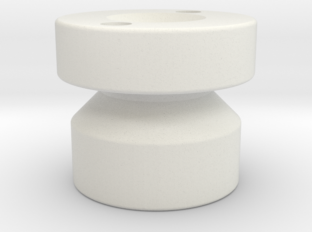 Check Valve Piston for RG forks v1 in White Strong & Flexible