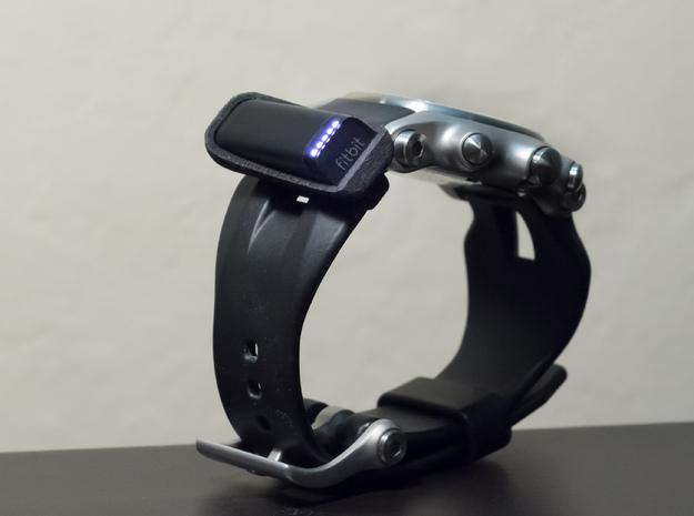 Custom Watchband Holder for Fitbit Flex