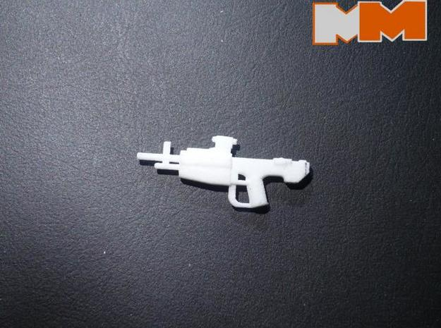 Scoped Marksmanship Rifle 3d printed Real Product Photo