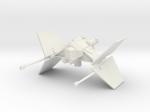 Sith Scout craft in White Natural Versatile Plastic