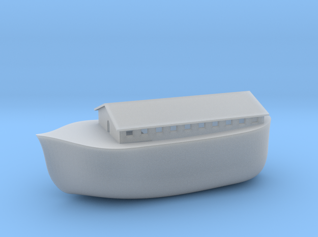 Noah's Ark in Smooth Fine Detail Plastic
