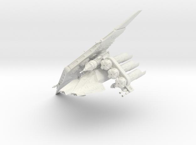 Crescent-X9 Heavy Courier  in White Natural Versatile Plastic