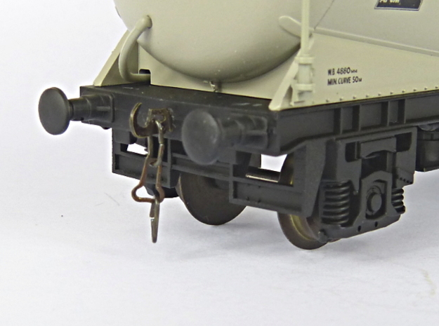 PCA Brake Actuator Frame for Lima / Hornby Wagon x in Frosted Extreme Detail
