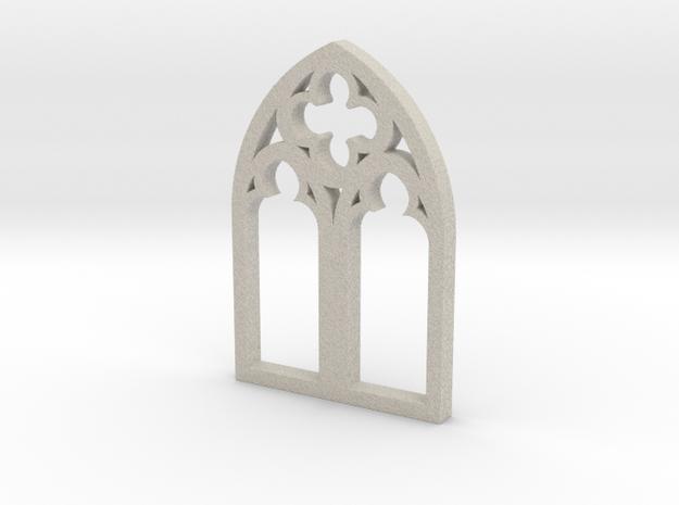 Church Window Gothic - MEDIUM in Sandstone