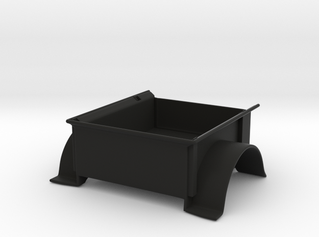 Full Depth Clarck \ Strong PW47 Trailer Bed in Black Strong & Flexible
