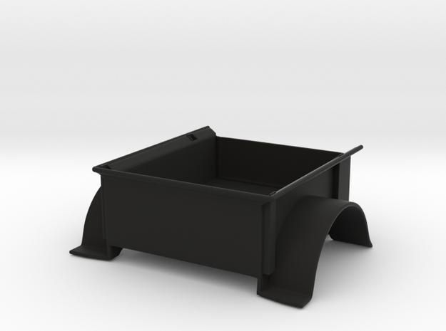 Full Depth Clarck \ Strong PW47 Trailer Bed in Black Natural Versatile Plastic