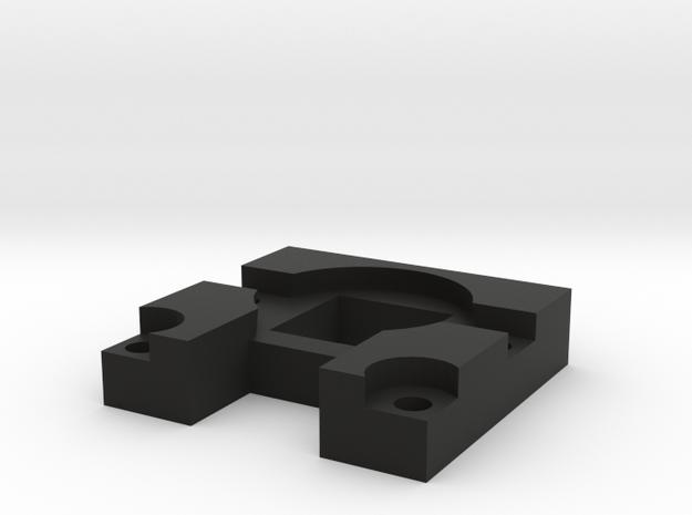 Raspberry Pi Camera Magnetic Lens Mount in Black Strong & Flexible
