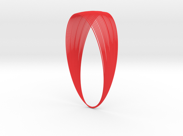 Cassini Grand Finale - lite in Red Strong & Flexible Polished