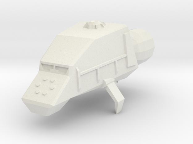 Utility Space Tug in White Natural Versatile Plastic