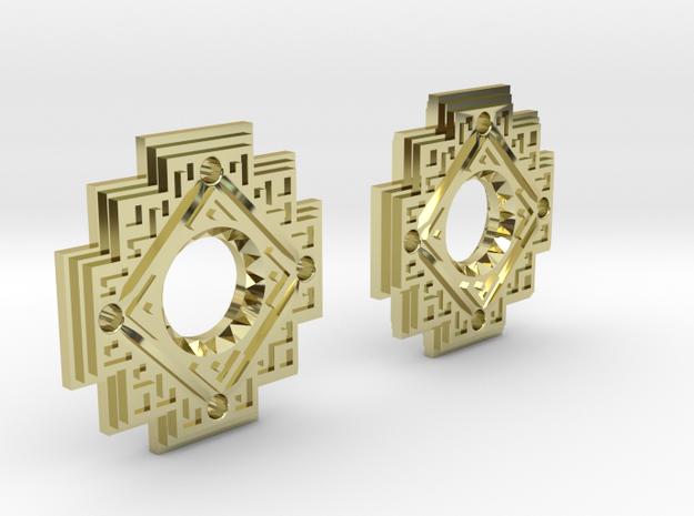 Inca Cross Earrings