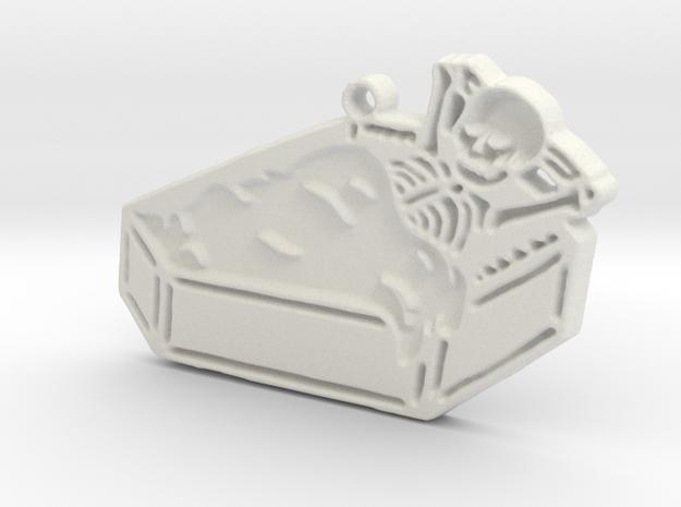 Eternal Rest in White Natural Versatile Plastic