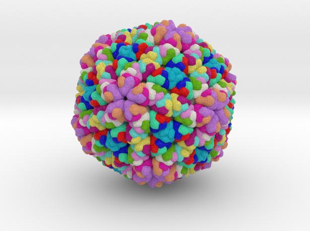 Rice Dwarf Virus in Full Color Sandstone