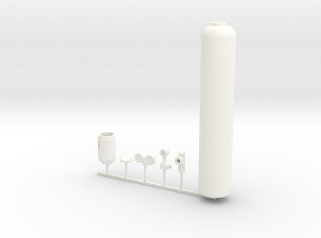 1/10 scale OXYGEN BOTTLE KIT