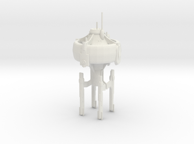 U.S.S. Orion in White Natural Versatile Plastic