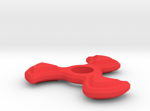 Fly Away Spinner in Red Processed Versatile Plastic