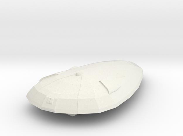 Imperial Patrol Craft  in White Natural Versatile Plastic