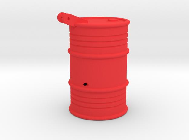 Fass Gewicht in Red Processed Versatile Plastic