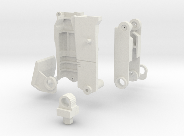 Ko Os Superion Improved Right Thigh in White Natural Versatile Plastic