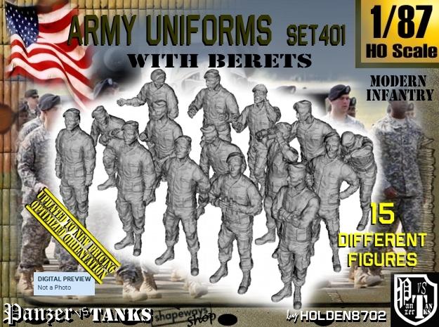 1/87 Modern Uniforms Berets Set401