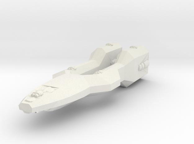 Colonial Defender WSF in White Natural Versatile Plastic