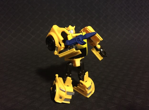 Bumblebee's Blaster in Blue Strong & Flexible Polished