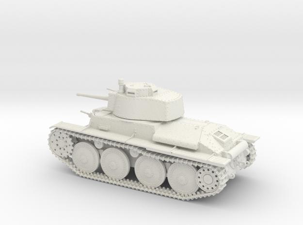 VBA Light tank LT vz.38 - Panzer 38(t) - 1/48 in White Natural Versatile Plastic