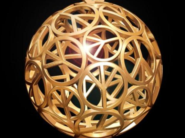 Peace Ball 3d printed Fig. C